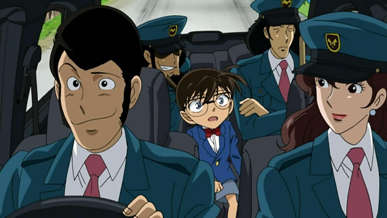 Kết quả hình ảnh cho Lupin III vs. Detective Conan: The Movie