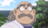 Hiroshi Agasa seems worried.